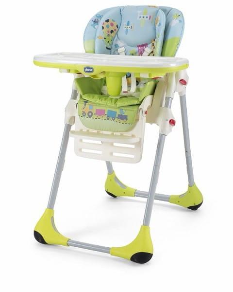 Купить Стульчик для кормления Chicco Polly 2 в 1 Baby World в интернет магазине игрушек и детских товаров