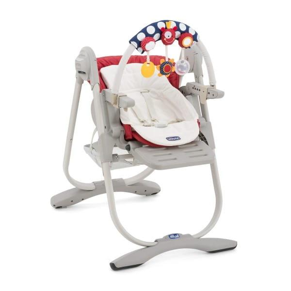 Купить Стульчик для кормления Chicco Polly Magic Paprika в интернет магазине игрушек и детских товаров