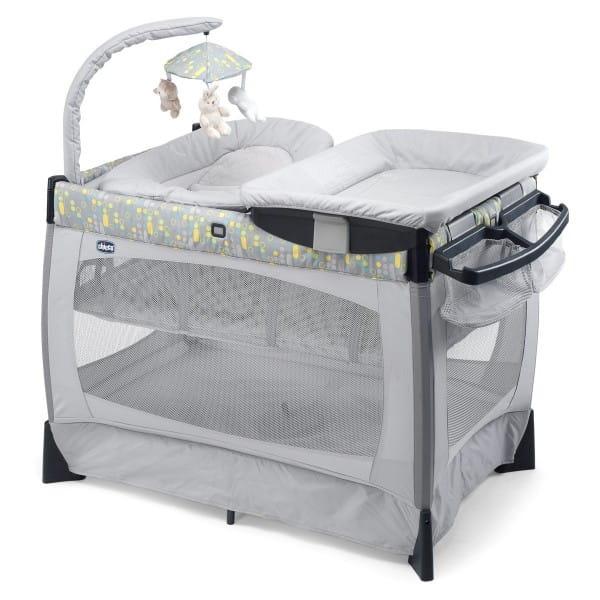 Купить Кровать-манеж Chicco Lullaby Baby Playard Silver в интернет магазине игрушек и детских товаров