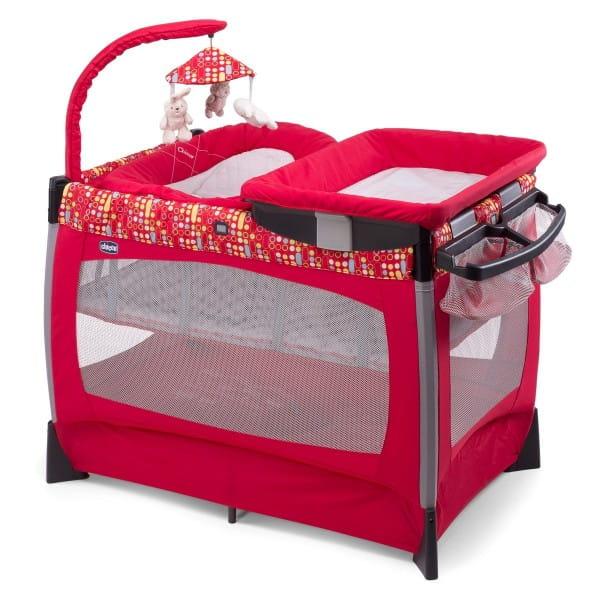 Купить Кровать-манеж Chicco Lullaby Race в интернет магазине игрушек и детских товаров