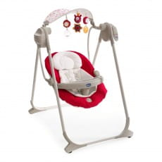 Фото Качели Chicco Polly Swing Up Red Wave
