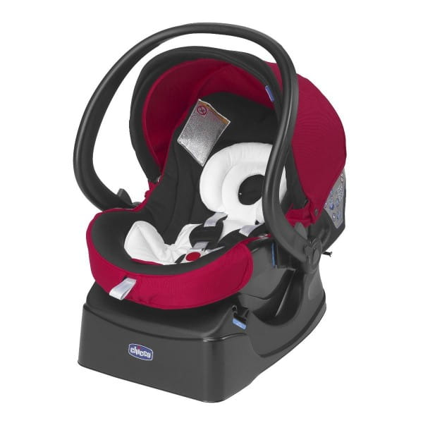 Автокресло Chicco 7922093 Auto-Fix Fast Baby Red Wave