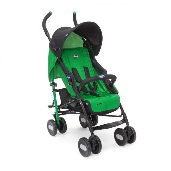Купить Коляска-трость Chicco Echo Stroller с бампером Green Jam в интернет магазине игрушек и детских товаров
