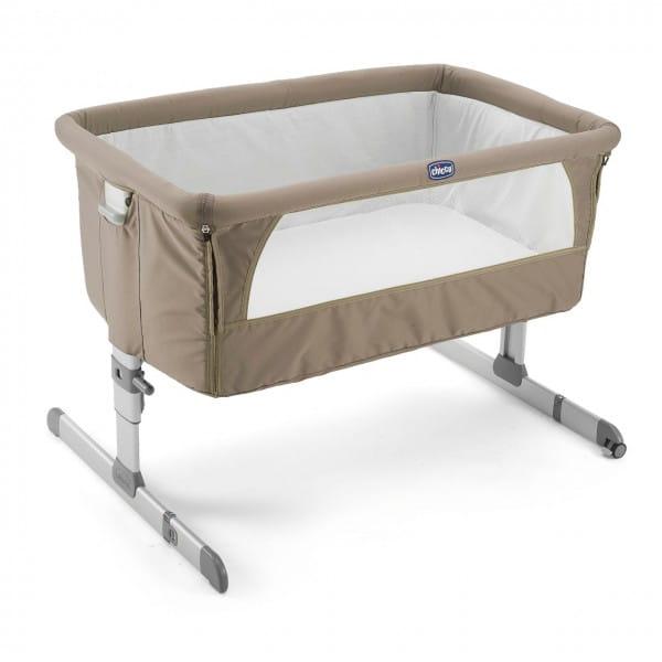 Купить Кроватка Chicco Next2Me Dove Grey в интернет магазине игрушек и детских товаров