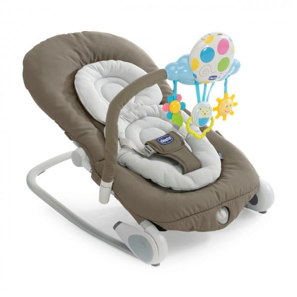 Кресло-качалка Chicco 7934947 Balloon c музыкальным блоком Grey