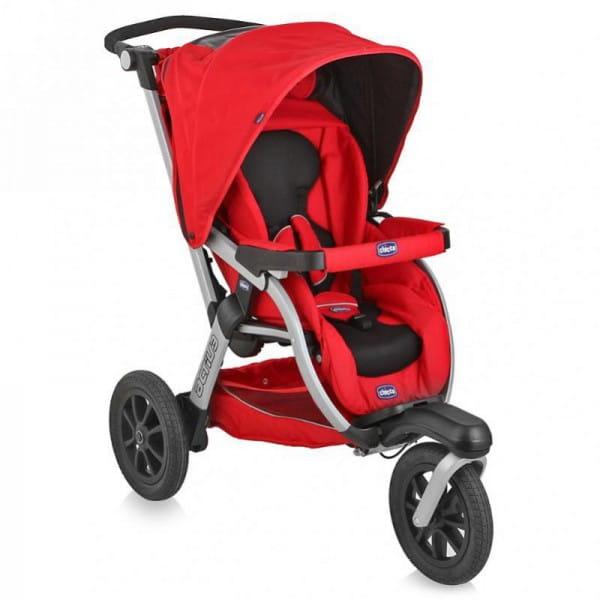 Купить Прогулочная коляска Chicco Activ3 Red Wave в интернет магазине игрушек и детских товаров