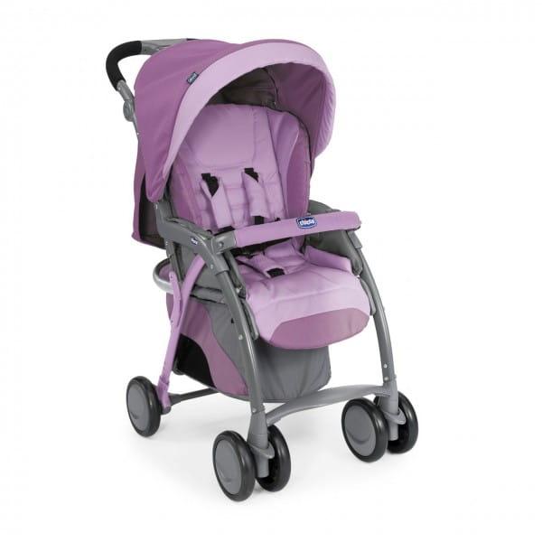 Купить Прогулочная коляска Chicco SimpliCity Plus Top Rose в интернет магазине игрушек и детских товаров