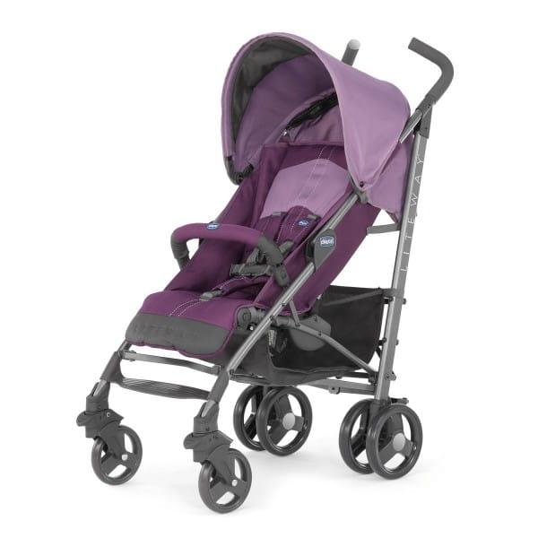 Купить Прогулочная коляска Chicco Lite Way Top BB Purple в интернет магазине игрушек и детских товаров