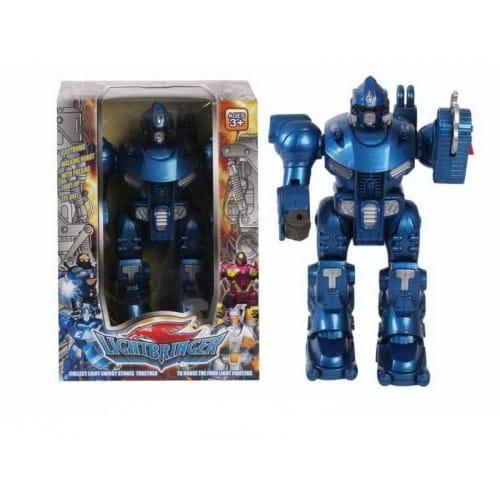 Купить Электронный робот со световыми эффектами Shantou Gepai - синий в интернет магазине игрушек и детских товаров