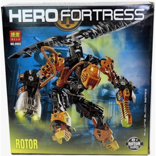 Конструктор Hero Fortress Робот-трансформер Rotor
