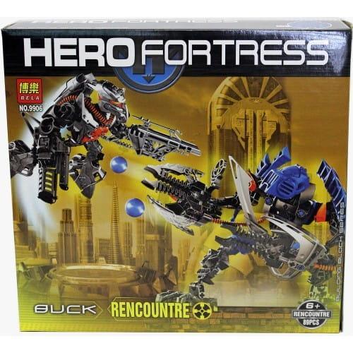 Конструктор Hero Fortress Робот-трансформер Rencounter