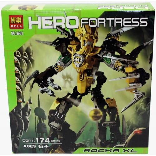 Конструктор Hero Fortress Робот-Трансформер Rocka XL