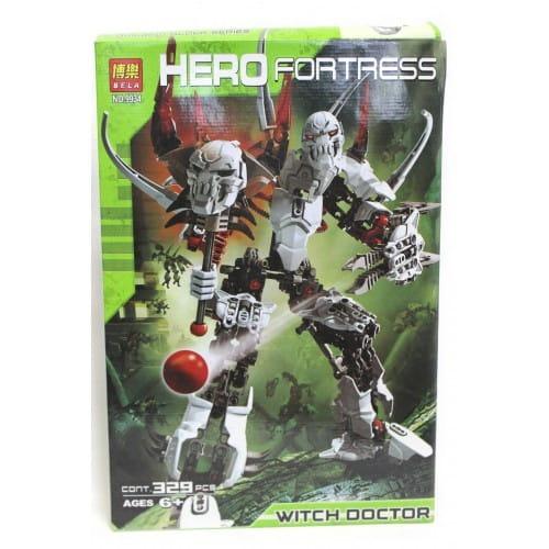 Конструктор Hero Fortress Робот-Трансформер Witch Doctor