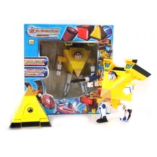 Конструктор Hero Fortress Робот-трансформер Пирамида