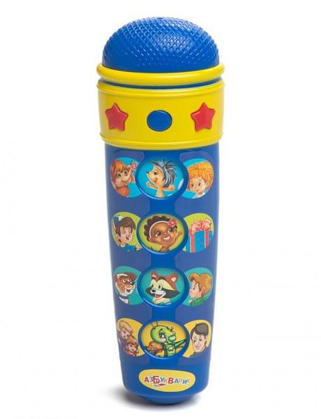 Детский микрофон Азбукварик 80130 Караоке (песенки В.Шаинского)
