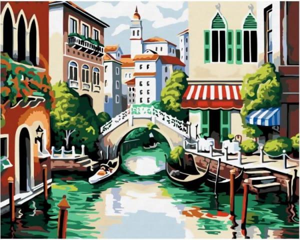 Раскраска по номерам Белоснежка Венеция