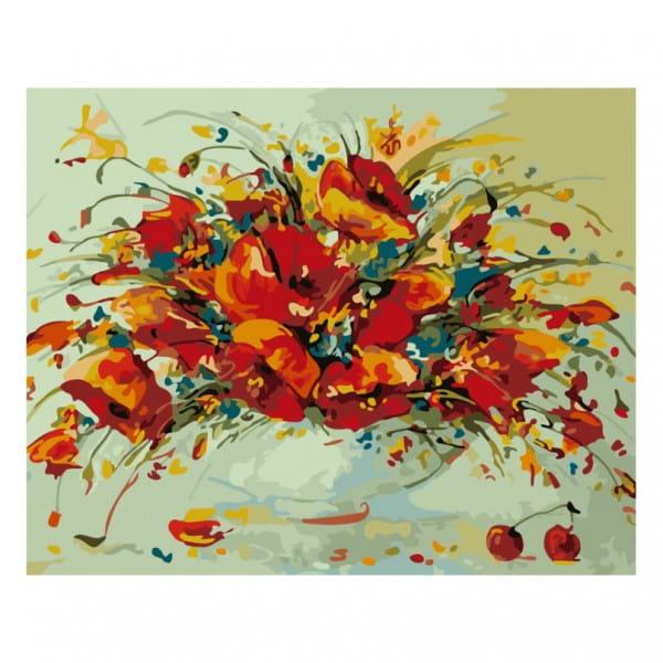 Раскраска по номерам Белоснежка Весенний вальс