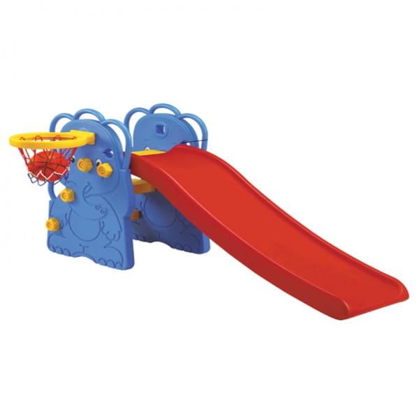 Горка Edu-Play Малыш слоненок (с баскетбольным кольцом)