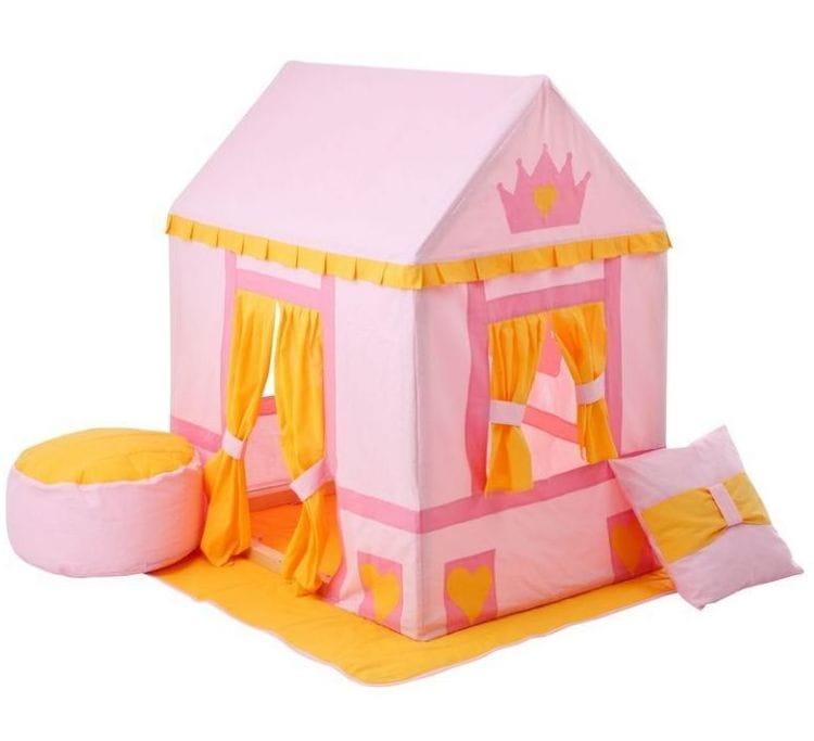 Домик-палатка PAREMO Дворец Три Короны (с пуфиком)