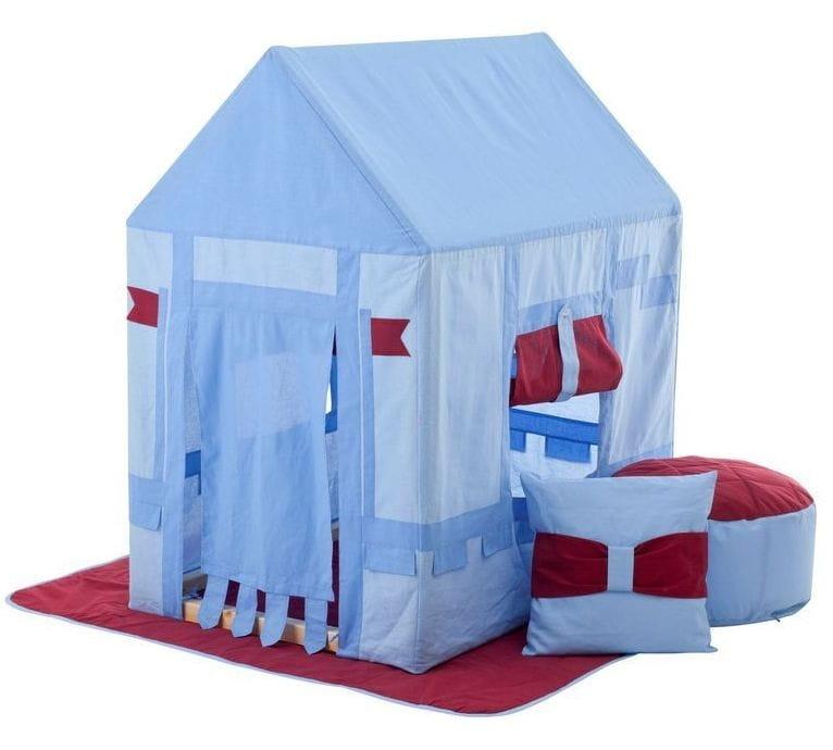 Домик-палатка Paremo PCR116-01 Замок Бристоль (с пуфиком)