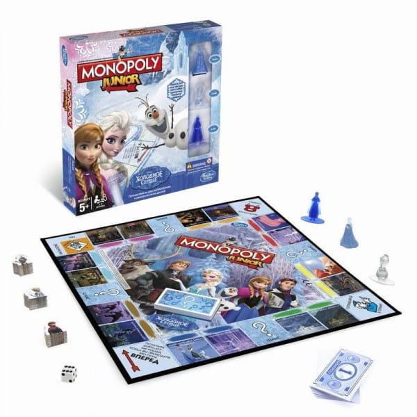 Настольная игра Hasbro Монополия Junior Холодное сердце