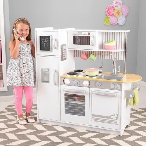Детская кухня Kidkraft Аптаун Uptown White Kitchen