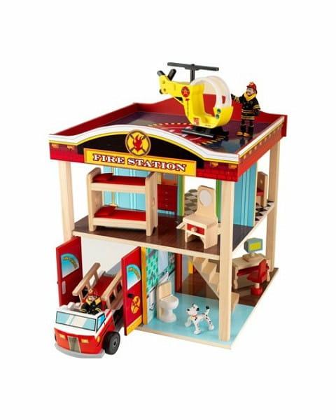 Купить Игровой набор для мальчиков Kidkraft Пожарная станция в интернет магазине игрушек и детских товаров
