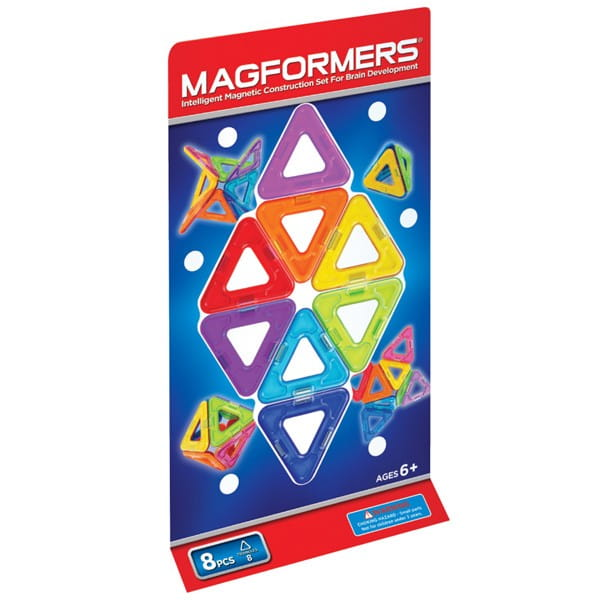 Магнитный конструктор Magformers 701002-8 Треугольники