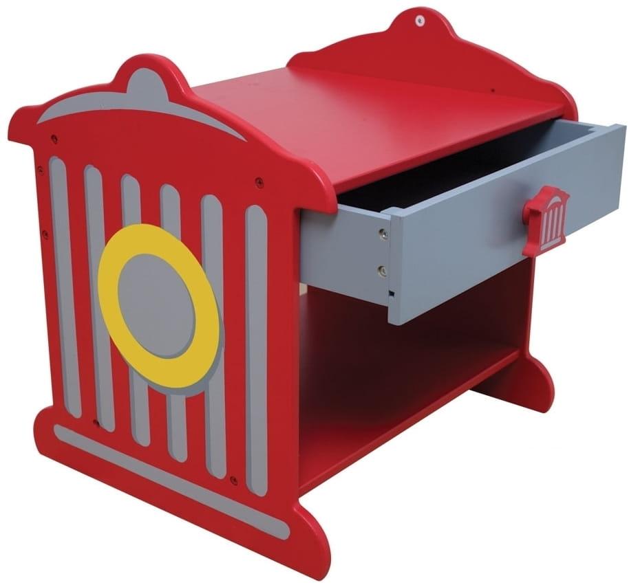 Прикроватный столик Kidkraft Пожарная станция Fire Hydrant Toddler Table