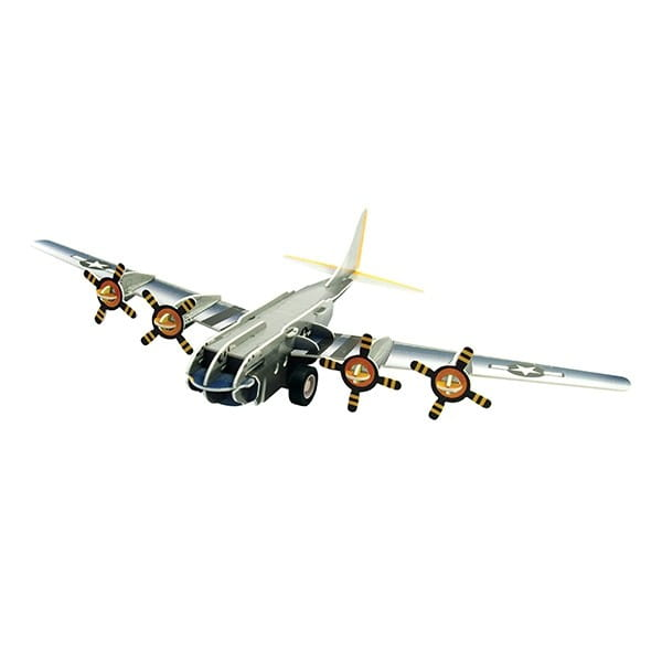 Купить Объемный пазл IQ 3D Puzzle Бомбардировщик B-17 (инерционный) в интернет магазине игрушек и детских товаров