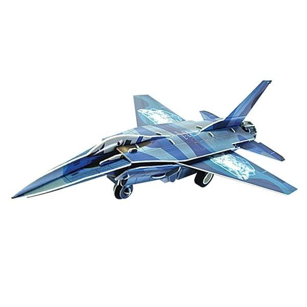 Купить Объемный пазл IQ 3D Puzzle Истребитель F-16 (инерционный) в интернет магазине игрушек и детских товаров