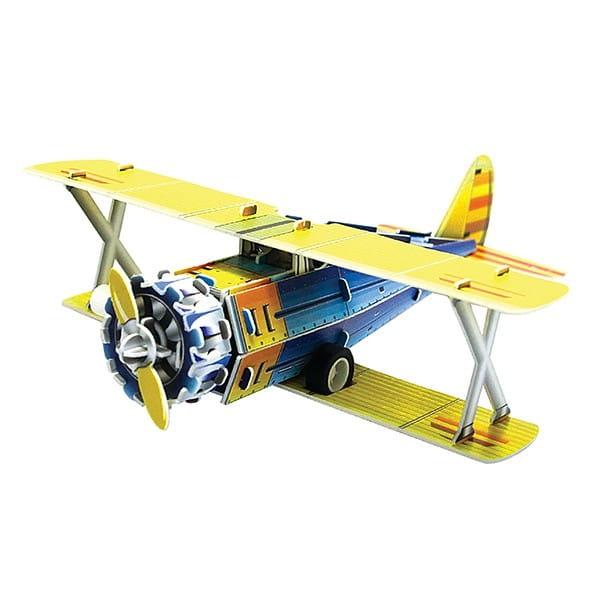 Купить Объемный пазл IQ 3D Puzzle Классический истребитель F41-B (инерционный) в интернет магазине игрушек и детских товаров