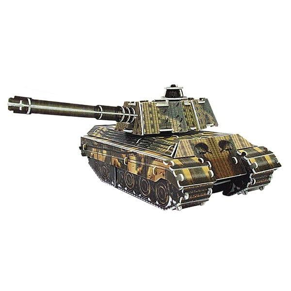 Купить Объемный пазл IQ 3D Puzzle Танк King Tiger (инерционный) в интернет магазине игрушек и детских товаров