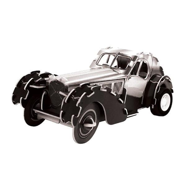 Купить Объемный пазл IQ 3D Puzzle Красный гоночный автомобиль (инерционный) в интернет магазине игрушек и детских товаров