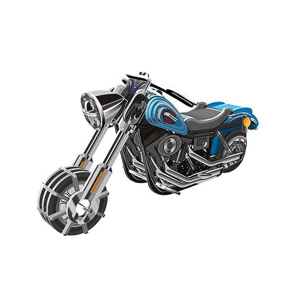 Купить Объемный пазл IQ 3D Puzzle Мотоцикл Wide G (инерционный) в интернет магазине игрушек и детских товаров