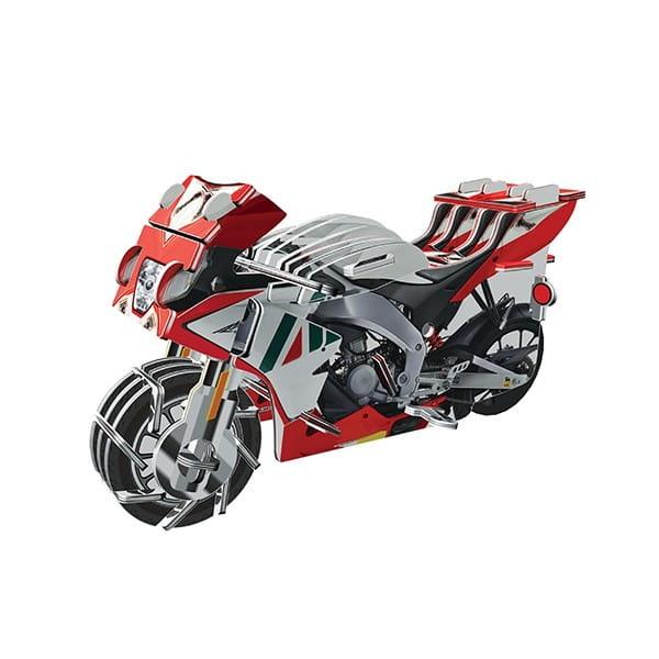 Купить Объемный пазл IQ 3D Puzzle Мотоцикл RGV-250 (инерционный) в интернет магазине игрушек и детских товаров