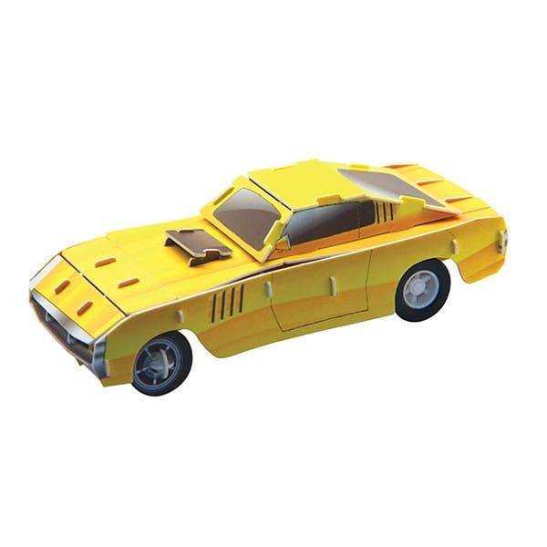 Купить Объемный пазл IQ 3D Puzzle Ретро автомобиль 57SC Coupe (инерционный) в интернет магазине игрушек и детских товаров