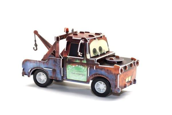 Купить Объемный пазл IQ 3D Puzzle Дисней Planes - Мэтр (инерционный) в интернет магазине игрушек и детских товаров