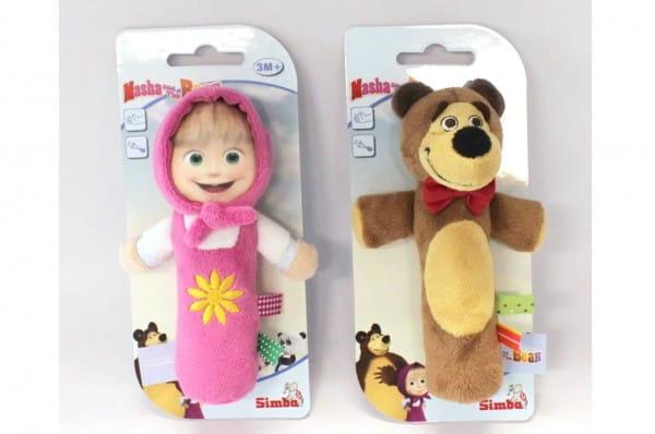 Плюшевая игрушка Simba Маша и медведь 2 (со звуком)