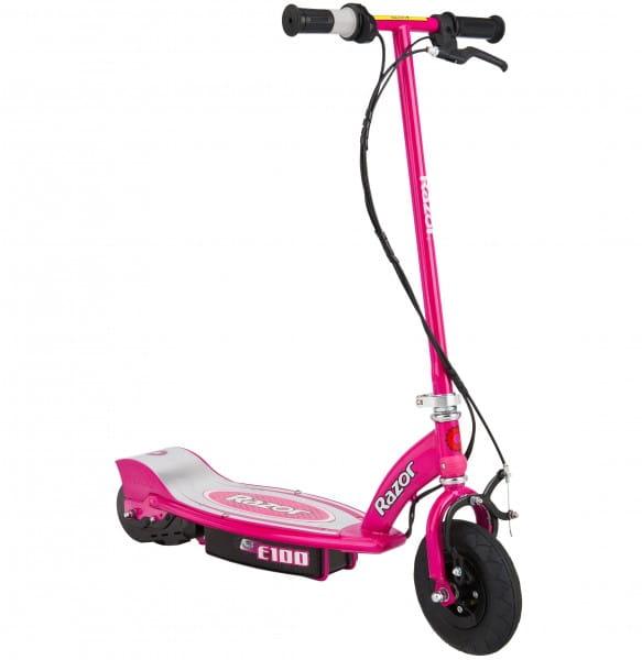 Детский электросамокат Razor E100 - розовый