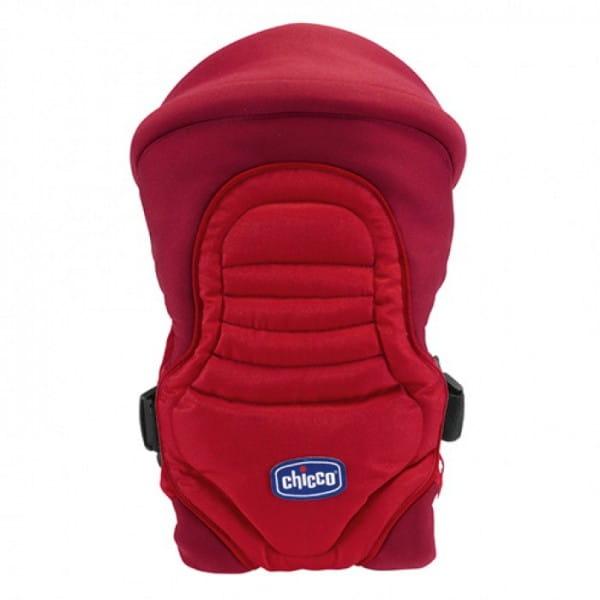 Купить Сумка-кенгуру Chicco Soft and Dream New Klabber Red в интернет магазине игрушек и детских товаров