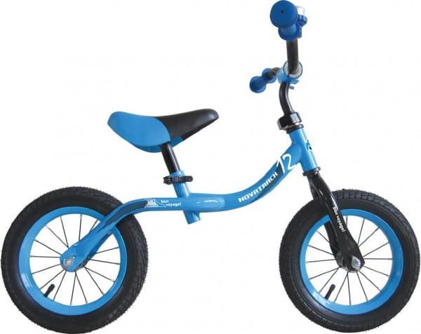 Купить Детский беговел Novatrack Bonvoyage синий - 12 дюймов в интернет магазине игрушек и детских товаров