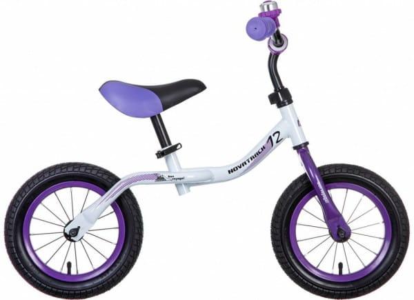 Купить Детский беговел Novatrack Bonvoyage белый - 12 дюймов в интернет магазине игрушек и детских товаров