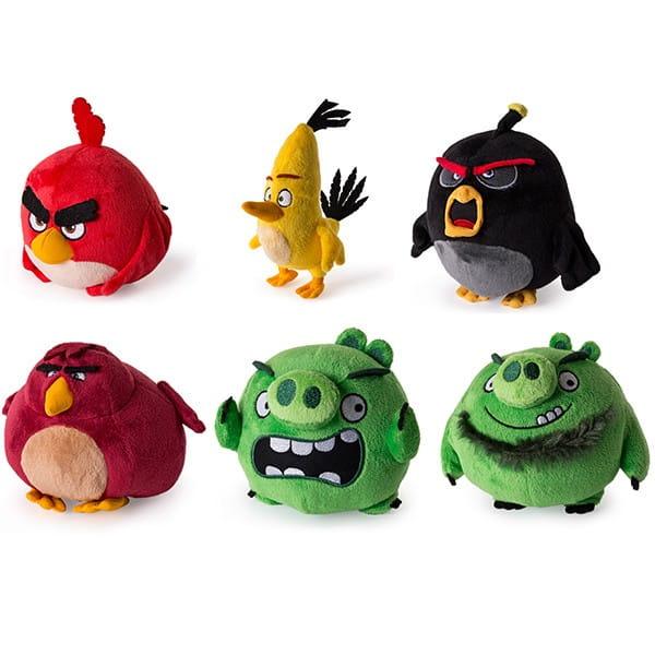 Плюшевая птичка Angry Birds - 13 см (Spin Master)