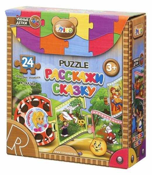 Купить Пазл Rico Расскажи сказку в интернет магазине игрушек и детских товаров