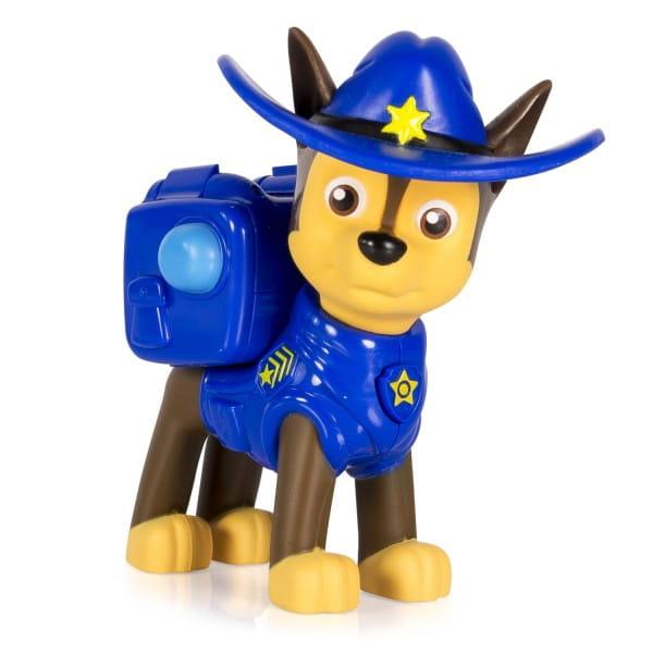 Игровой набор Paw Patrol Щенячий патруль Фигурка спасателя с рюкзаком-трансформером - Гонщик