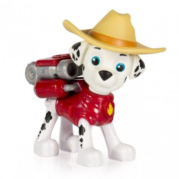 Игровой набор Paw Patrol Щенячий патруль Фигурка спасателя с рюкзаком-трансформером - Маршалл