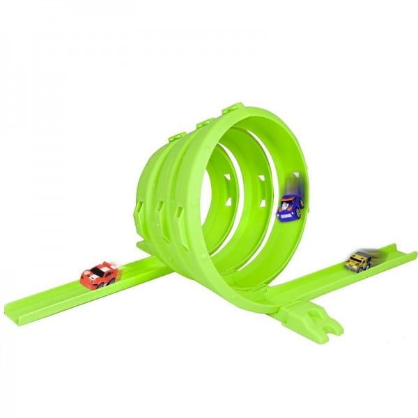 Купить Машинка и трек в форме спирали Nano Speed в интернет магазине игрушек и детских товаров