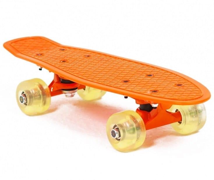 Скейт пластиковый Moove and Fun PP1705-2 17х5