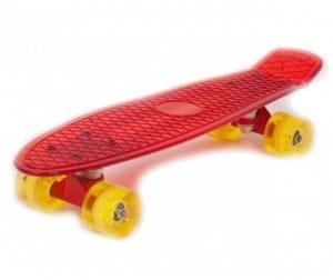 """Купить Скейт пластиковый Moove and Fun 22х6"""" в интернет магазине игрушек и детских товаров"""